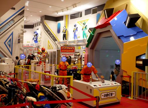 ナムコアクションミュージアム 東映ヒーローワールド ヒーローショップ