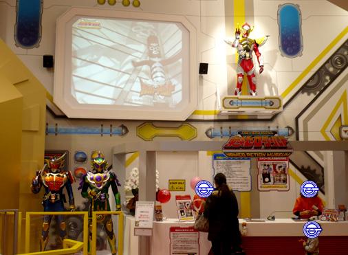 ナムコアクションミュージアム 東映ヒーローワールド チケット売り場