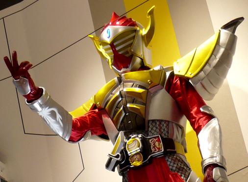 ナムコアクションミュージアム 東映ヒーローワールド チケット売り場 仮面ライダーバロン バナナアームズ