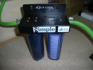 浄水器水換え02