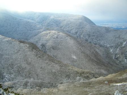 登山道からの雪景色CIMG0059