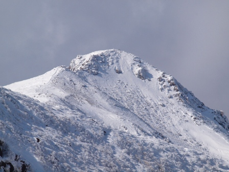 星生山山頂のアップP1032788