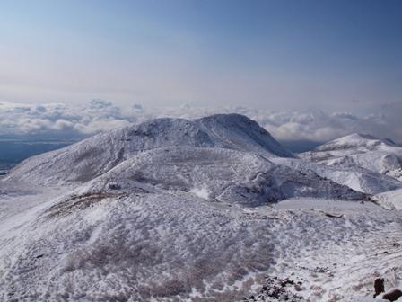 中岳山頂から久住山P1032741