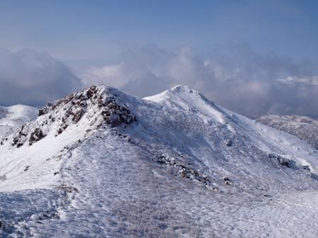 中岳山頂から天狗ケ城と星生山P1032768