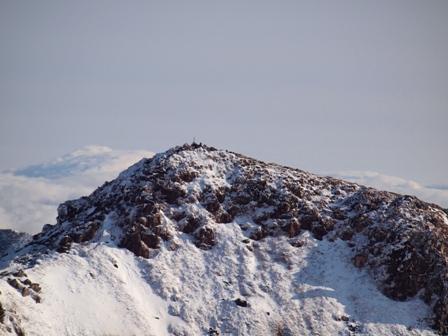 久住山山頂から中岳P1182877