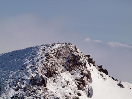 久住山山頂から天狗ケ城P1182875