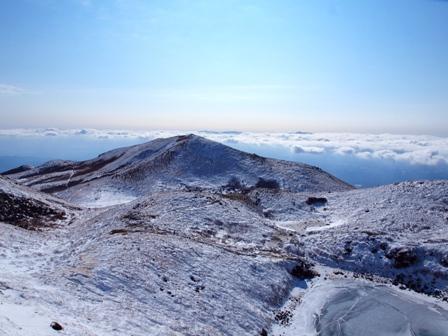 天狗ケ城山頂から稲星山P1182951