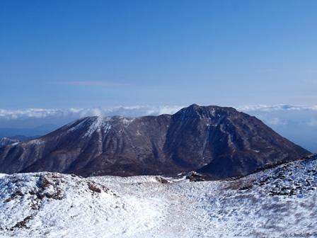 天狗ケ城山頂から大船山P1182971