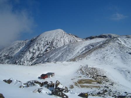 下山途中からの星生山CIMG0178
