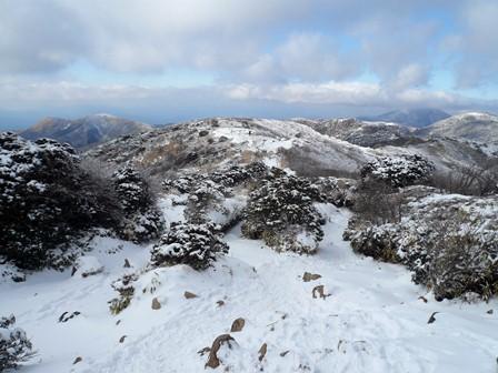 14.平坦な登山道