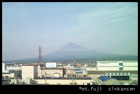 富士山IN新幹線