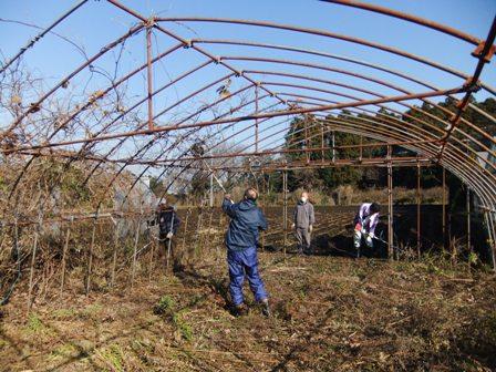 2010.12.18冬の草刈奉仕