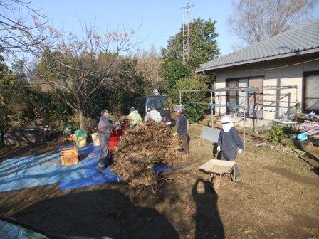 2010.12.18冬の林農園