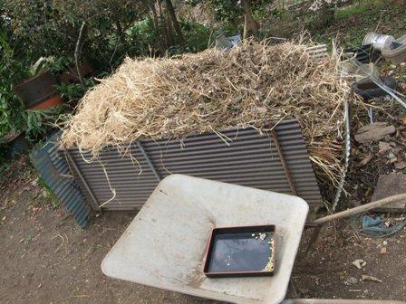 2010.12.18冬の堆肥作り
