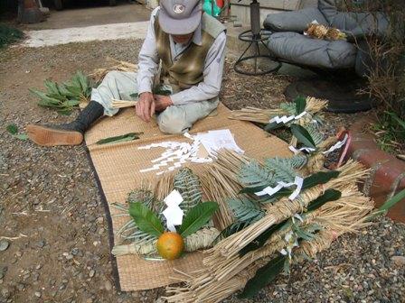 2010.12.30父の正月飾り