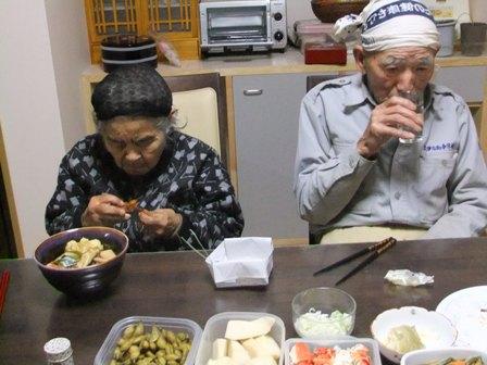 2010.12.31大晦日の食卓