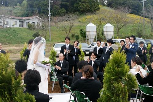 2011.10.22 農場での結婚式② 024