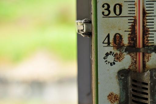 懐かしの温度計