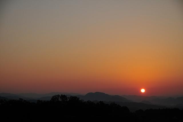 夕陽の時間
