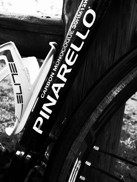 戦士の自転車