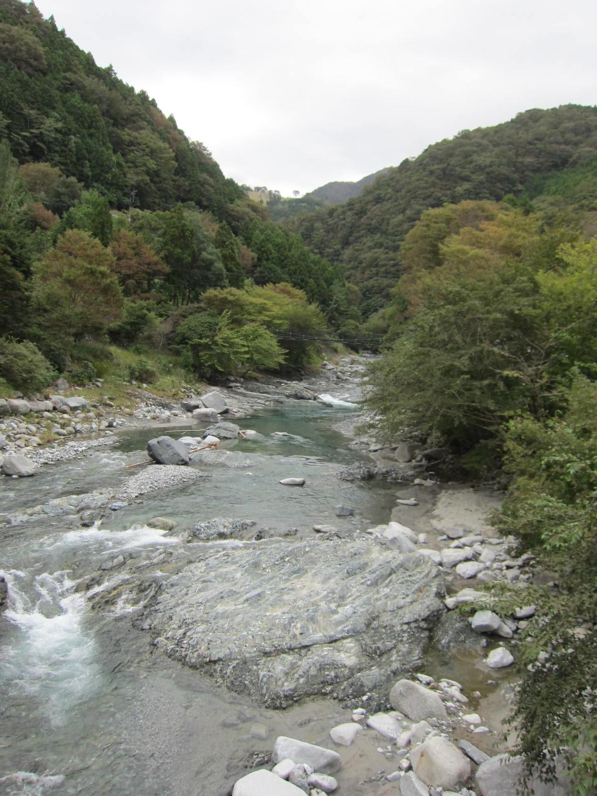 丹沢D_緑色片岩1