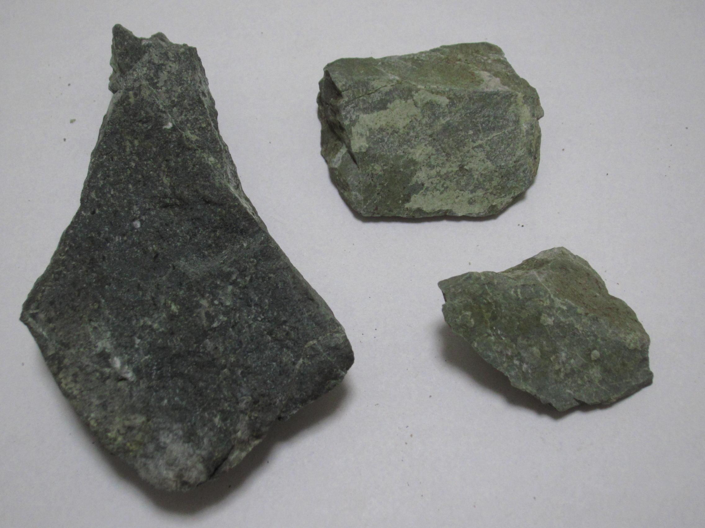 丹沢C_緑色岩サンプル