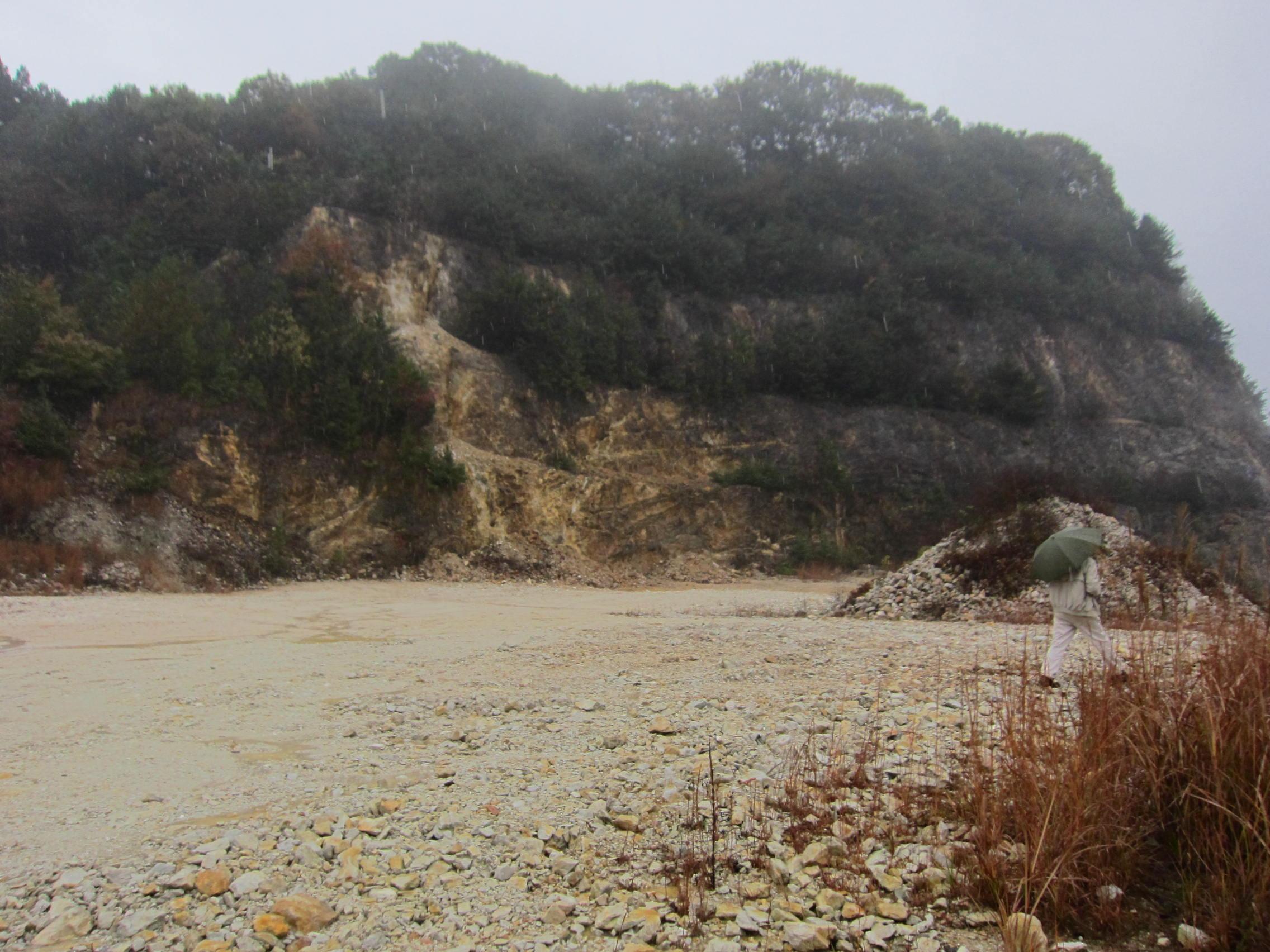 文挾クレー鉱山3