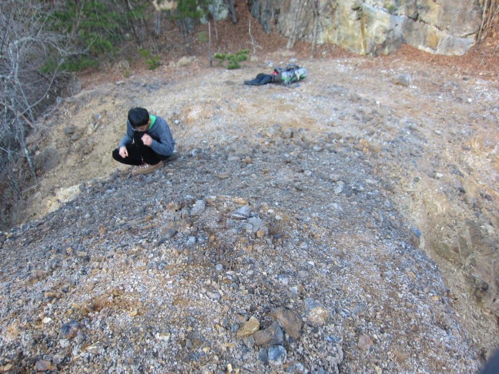 六助沢21 貯鉱場