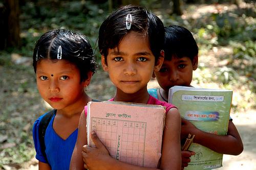 バングラデシュの女の子