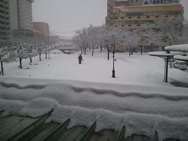 鳥取駅大雪