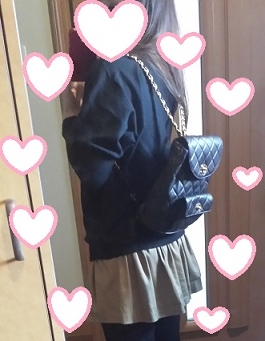 リュックファッション