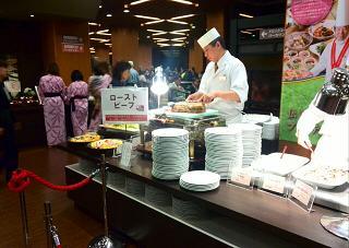 箕面大江戸温泉ディナー2