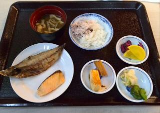 箕面大江戸温泉朝食2