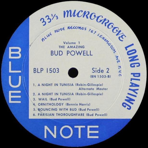 Bud Powell Blue Note BLP 1503 Lexington
