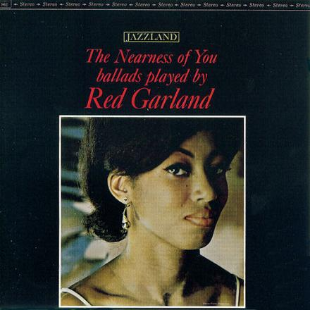 Red Garland The Nearness Of You Jazzland JLP 962