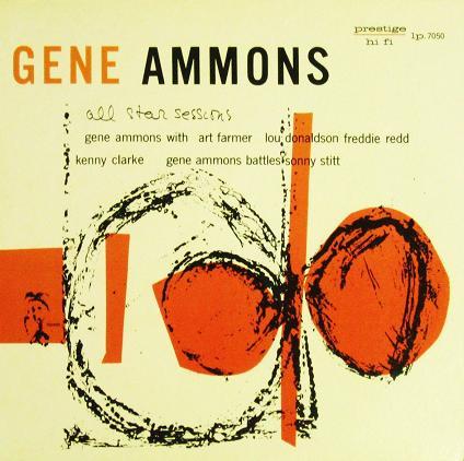 Gene Ammons All Star Sessions Prestige PRLP 7050