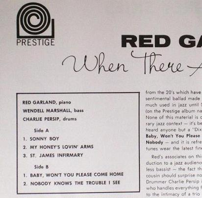 Red Garland When There Are Grey Skies Jacket