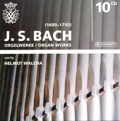 Helmut Walch J.S.Bach Organ Works mono