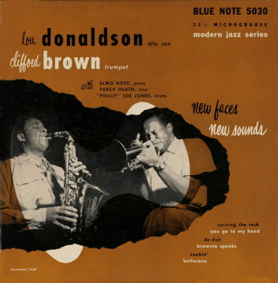 Clifford Brown Lou Donaldson Blue Note BLP 5030-1