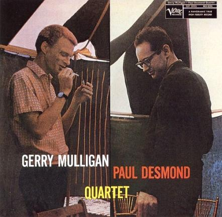 Gerry Mulligan Paul Desmond Quartet Verve MG V-8246