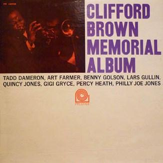 Clifford Brown Memorial Album Prestige PR 16008