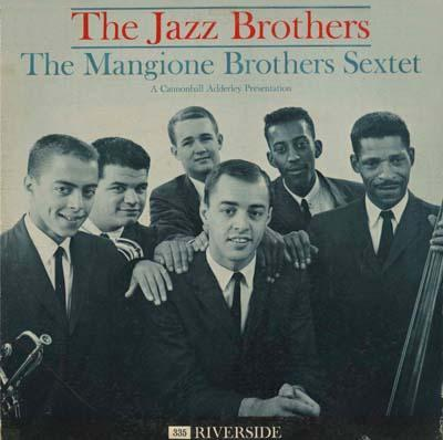 The Mangione Brothers Sextet The Jazz Brothers Riverside RLP 335
