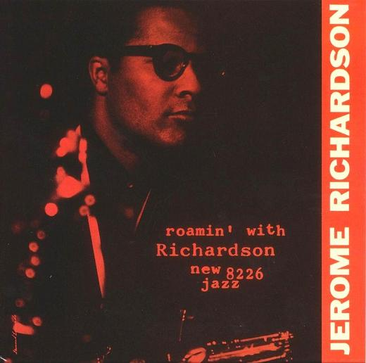Jerome Richardson Roamin With Richardson New Jazz NJLP 8226