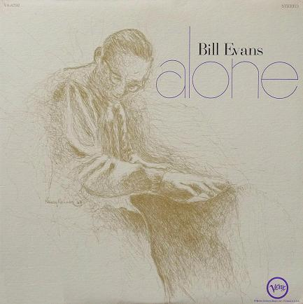Bill Evans Alone Verve V6-8792