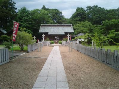 本丸にある相馬神社