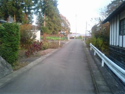 今の登城道