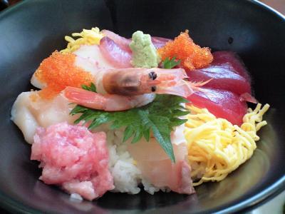 廻船(海鮮)丼①