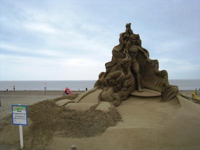 特別砂像とタイトル