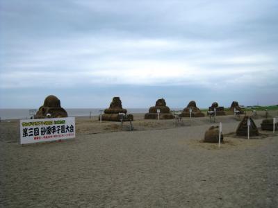 砂像甲子園の様子