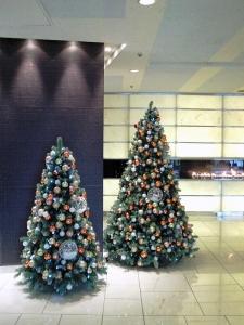 秋田キャッスルホテルさんのクリスマスツリー②